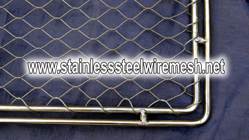 Stainless Steel Wire Rope Mesh Zoo Fencing Mesh